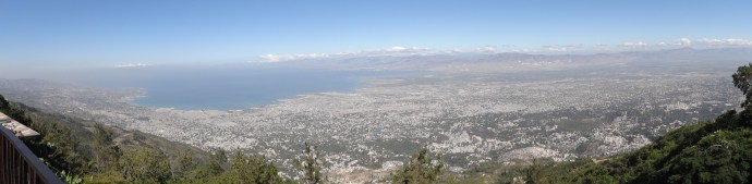 Port-au-Prince from above