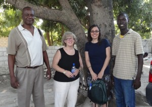 Pastor Gilbert, Debby, Wendy & Claudel, January 2013
