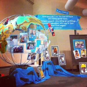 Decorations from Grace's Missions Conference 2013