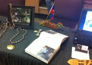 The Bridge table at the Missions Conference